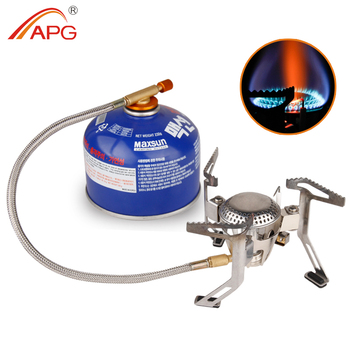 APG Big Burner Portable Camping Gas Stove