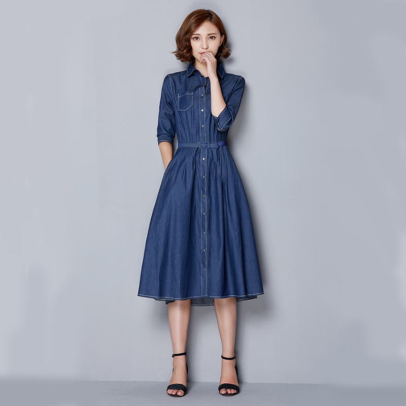 559f691963 femininos-mujer-2015-summer-style-maxi-dress-font-b-vestidos-b-font-font-b- vaqueros-b vestido vaquero aliexpress