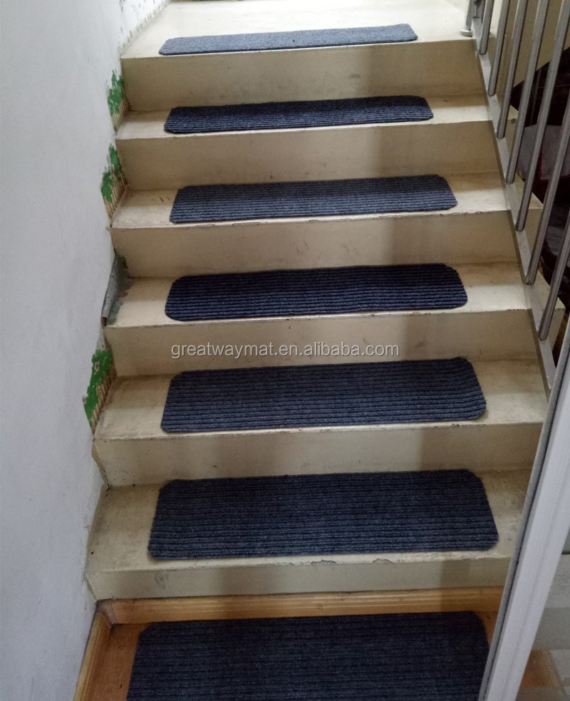 pvc backing anti slip stair mats