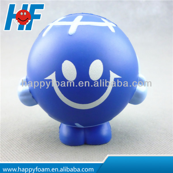 eco-friendly PU earth shaped stress ball promotional gift