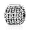 Custom wholesale clip lock stoppers charms beads 925 sterling silver