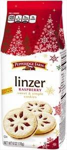 Pepperidge Farm Limited Edition Linzer Rasberry Sweet & Simple Cookies 6oz
