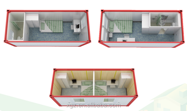 Multifunction and low cost container house