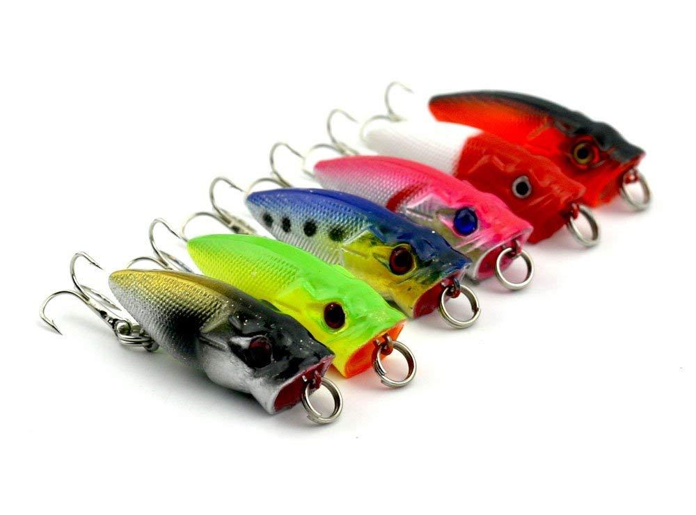 Buy HENGJIA fishing lure 6pcs popper top water lure