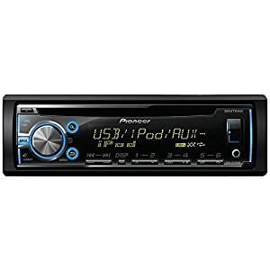 Pioneer Deh-X3700ui Single-Din In-Dash Cd Receiver With Mixtrax(R), Usb, Pandora(R) Internet Radio Ready, Android(Tm) Music Support & Color Customization 10.00In. X 8.80In. X 4.10In.