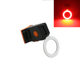 Fashionable safety rear light USB charging bicycle tail light