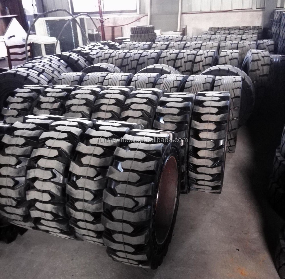 ANYGO brand 33x6x11 XZ13 Cured on solid tyre ,forklift solid tyre/tire