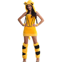 Foreign trade role play animal costumes stage Halloween Pikachu costumes