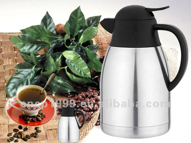2015 insulated vacuum double wall stainless steel 1.8L 64oz thermal insulated 200l stainless steel pot water pot pot