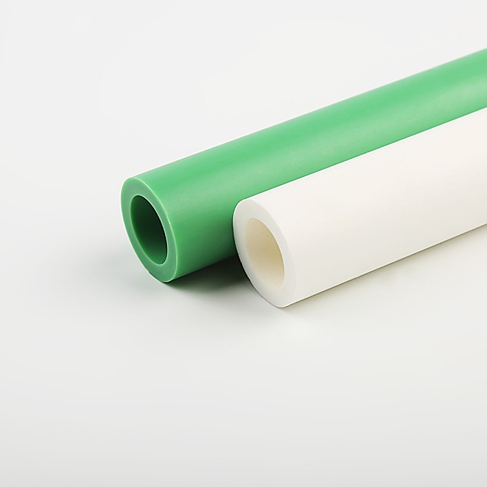 Pn25 Pp Materials Plastic Food Grade Ppr Pipe With Red Blue Color Line