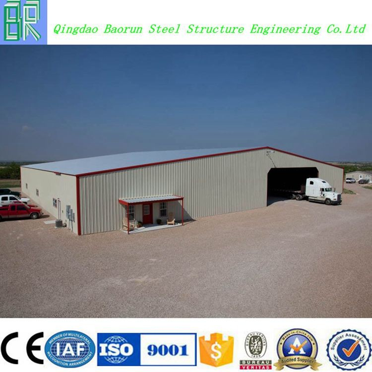 Hot sale galvanized steel frame structure low cost prefab warehouse