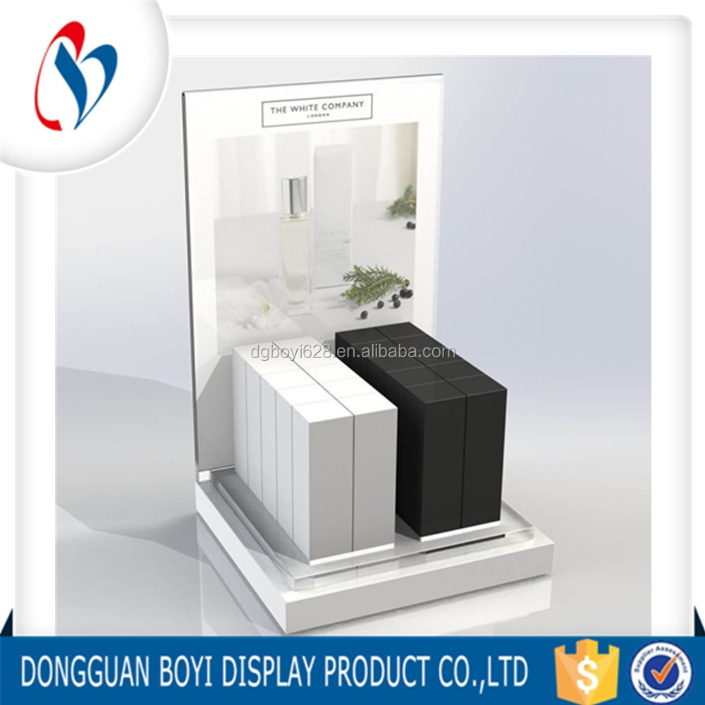 wholesale counter display cases for phone perfume jewelry watch customize shape and logo