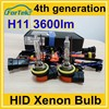 top quality OEM 3600LM H8/H9/H11 hid xenon headlight bulb 35W from China factory