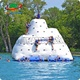 Hot Sale Inflatable floating iceberg climbing wall inflatable water games