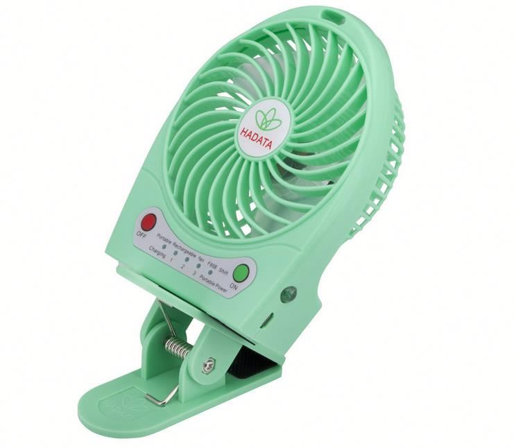 Solar mini clip fan ,HLud usb mini desk fan