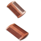 red wood lice Comb mustache beard comb for sale