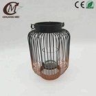 Wholesale Single Black Metal Lantern Candle Holder For Home & Garden