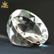Beautiful Blank Faceted Diamond Cut Crystal Glass Paperweight For Business Gifts
