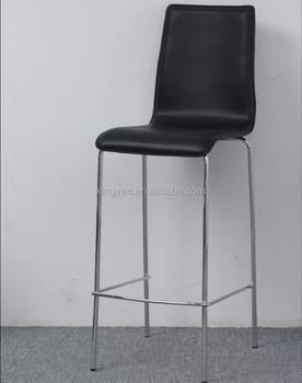 Fabulous Modern Bar Furniture Barchair High Chair Chromed Stainless Steel Barstool Pvc Leather High Back Bar Stool Buy Metal Bar Stool Bar Table Machost Co Dining Chair Design Ideas Machostcouk