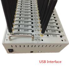 GSM/GPRS 32 port Modem Pool USB Interface SMS Gateway Quad Band Bulk sms modem