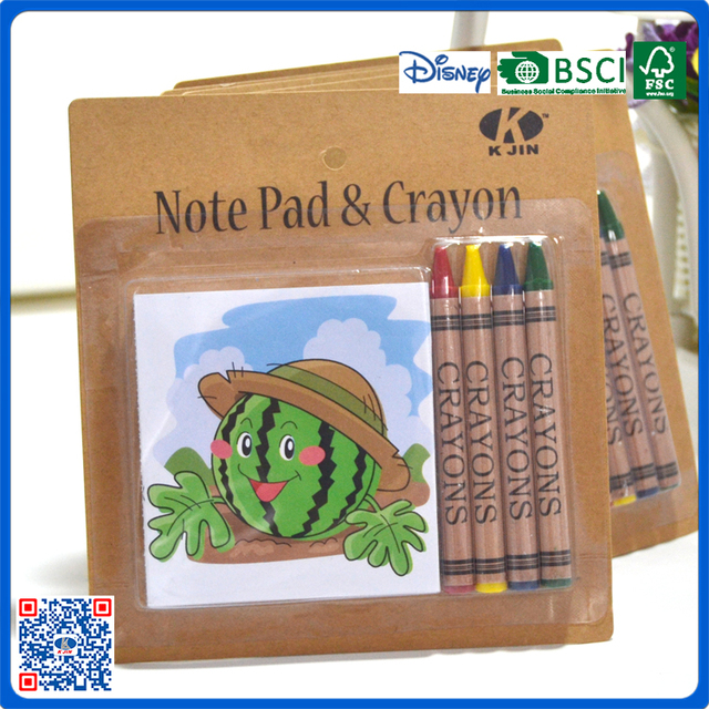 Wholesale 4colors Crayons And Coloring Books Stationery Set In Blister Packing For School Children Buy Coloring Books And Crayons Coloring Books