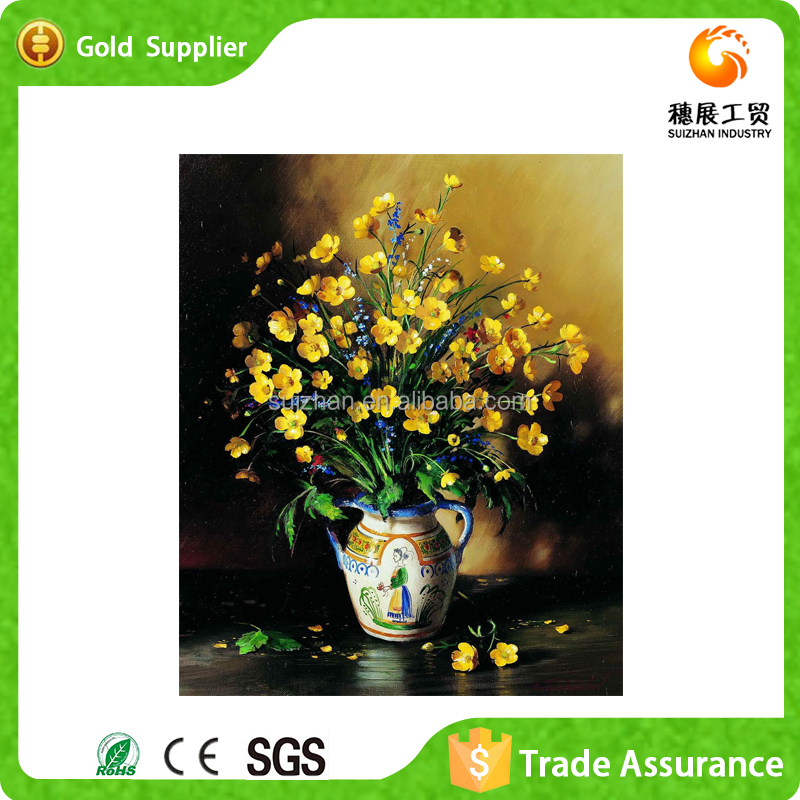 Wholesale Canvas Art Painting Single Flower Painting