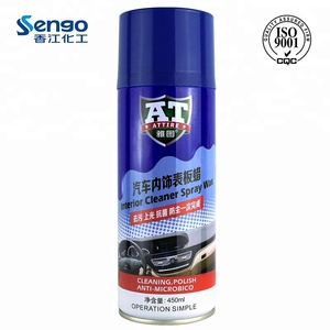 China Factory Price Auto Silicone Dashboard Polish wax spray for car use