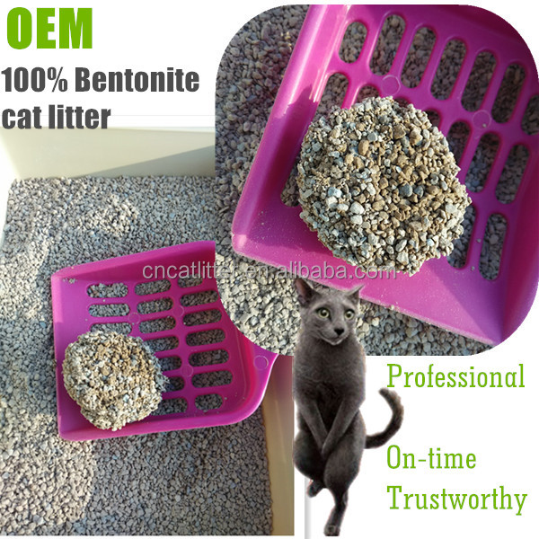 factory supply bentonite scented cat litter pet cleaning high grade cat sand