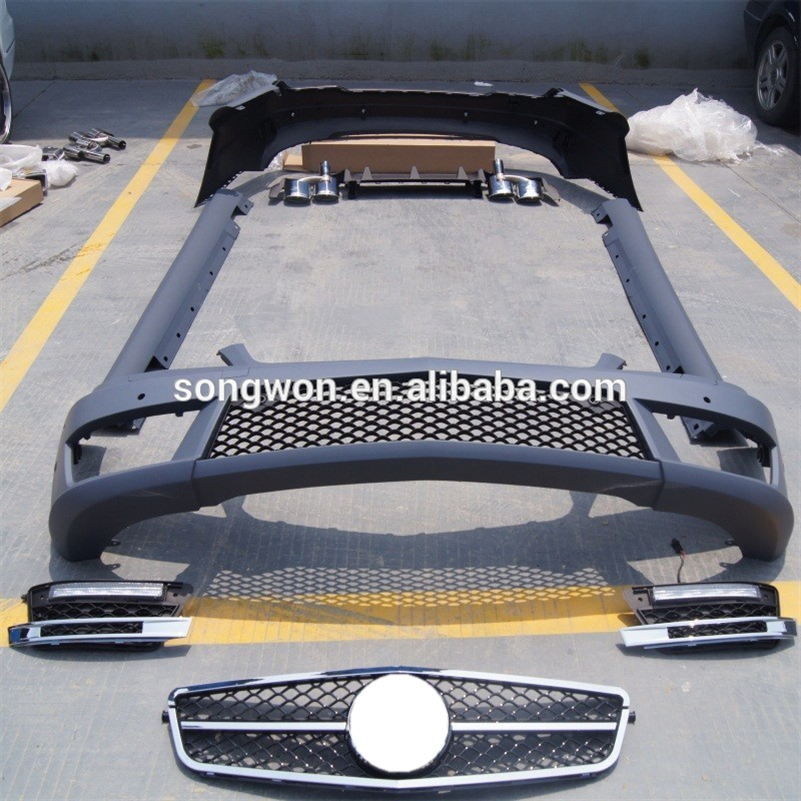 car bodykit for w204