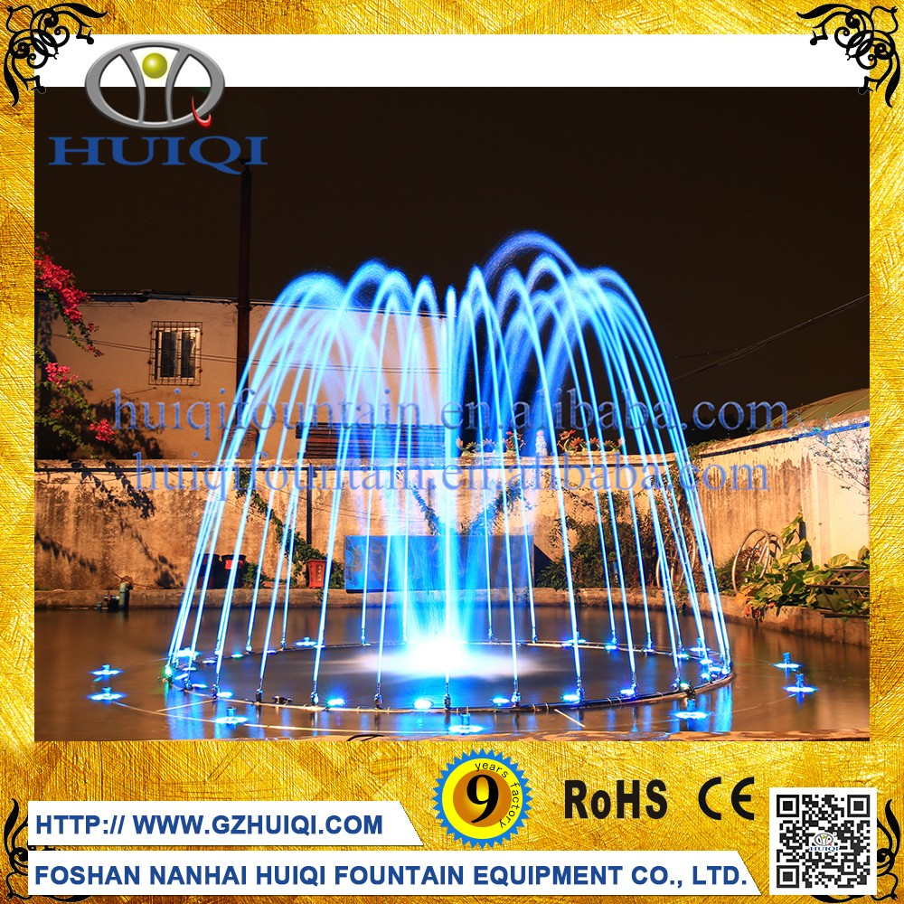 Program Control System Music Dancing Water Fountain Decoration