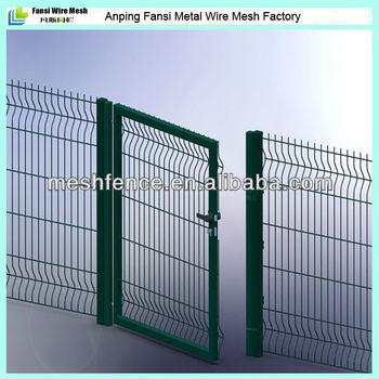 Nylofor 3d Garden Fence Bali Gate Front Yard Double Swing Fence