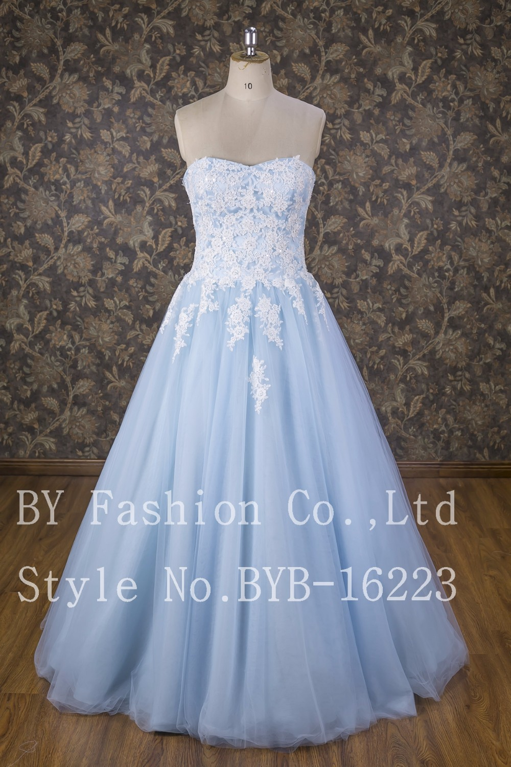 Ball Gown Princess Beaded Lace Up Wedding Dress For Bride With ...
