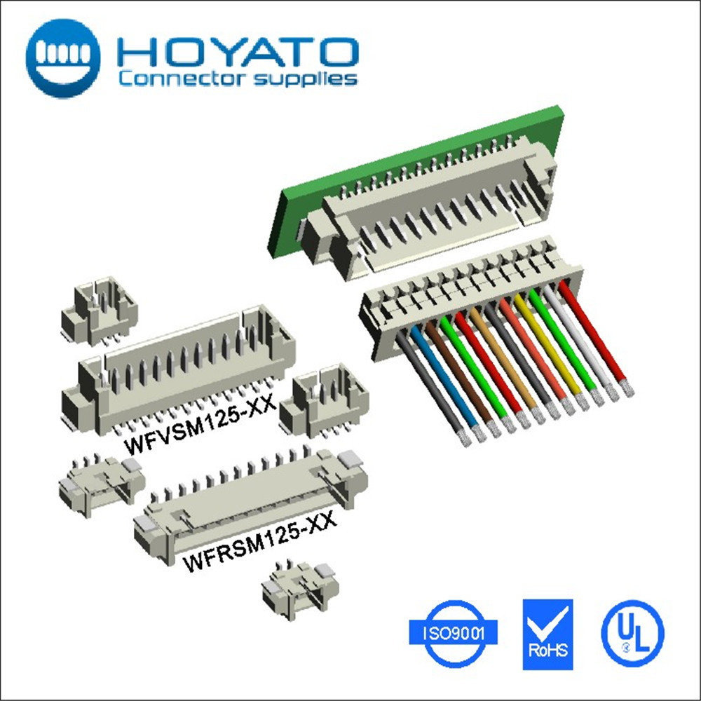 53398-1271 533981271 0533981271 1.25 mm straight smt 125 wafer connector 12p 12pin 12line, 1.25mm male plug header 12 pin p