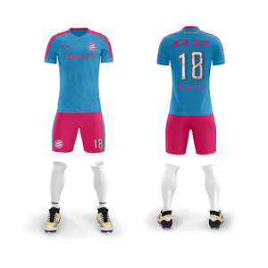 Custom Wholesale Cheap Youth Brazil Sublimation Football Uniforms