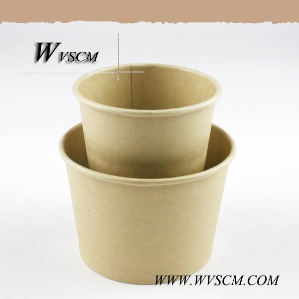Food grade disposable wheat straw paper cup