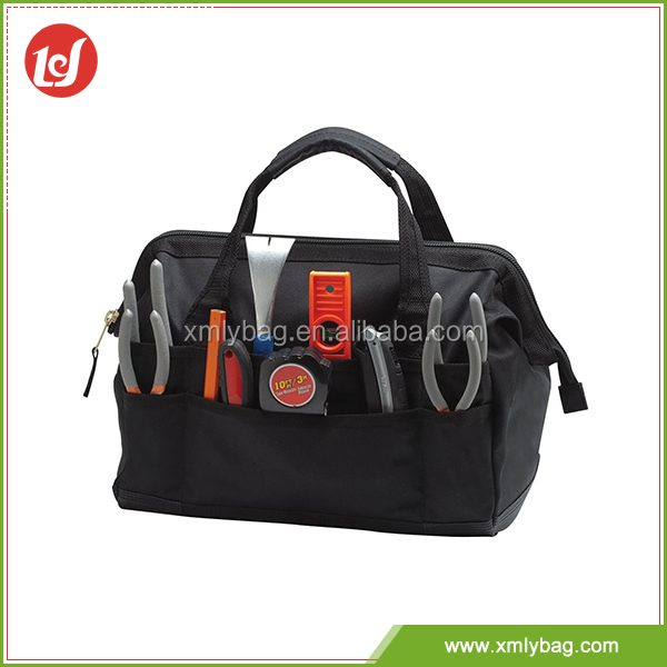 Best sale professional large capacity durable hardware heavy duty electrician tool bag