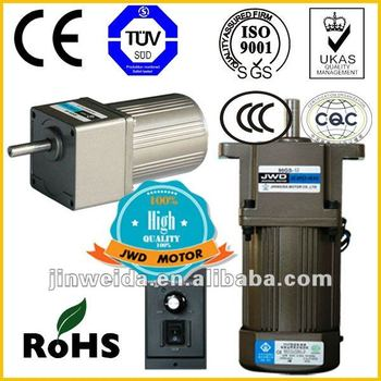 Ac Asynchronous Small Gear Motor Reduction Electric Motor