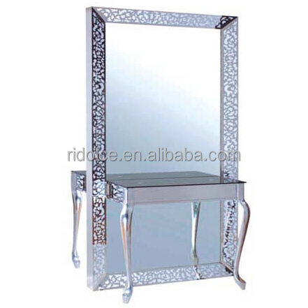 Side Beauty Salon Mirror With Led Light F-1890b