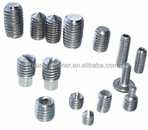Stock DIN913/914/915/916 All Types SS Socket Set Screws