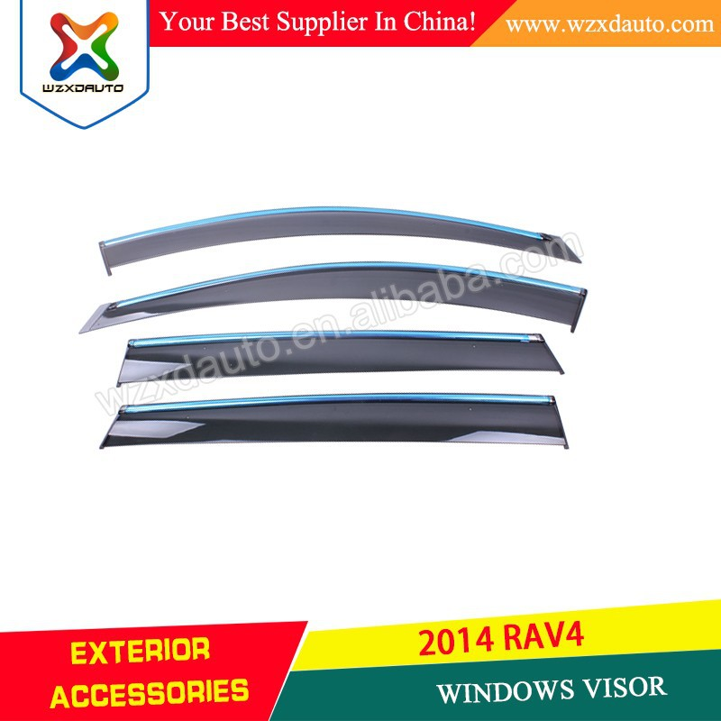 Windows Wind Deflectors, Visor Rain/Sun Guard Vent for Rav 4 2013-2015