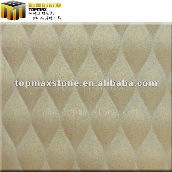 Stone fashionable TV wall carving