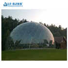 Steel Construction Prefabricated Prefabricated Hall Steel Space Frame Structure Glass Construction Prefabricated Wedding Halls Dome Roof