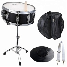 Met Case, Sticks, Stand en Praktijk Pad Kit Student Snare <span class=keywords><strong>Drum</strong></span> Set