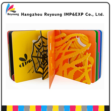 China printing service children baby board books print