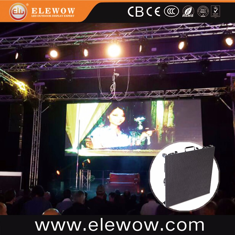 Factory directory P10 outdoor full color 3d disco dj led display panel for AD rental