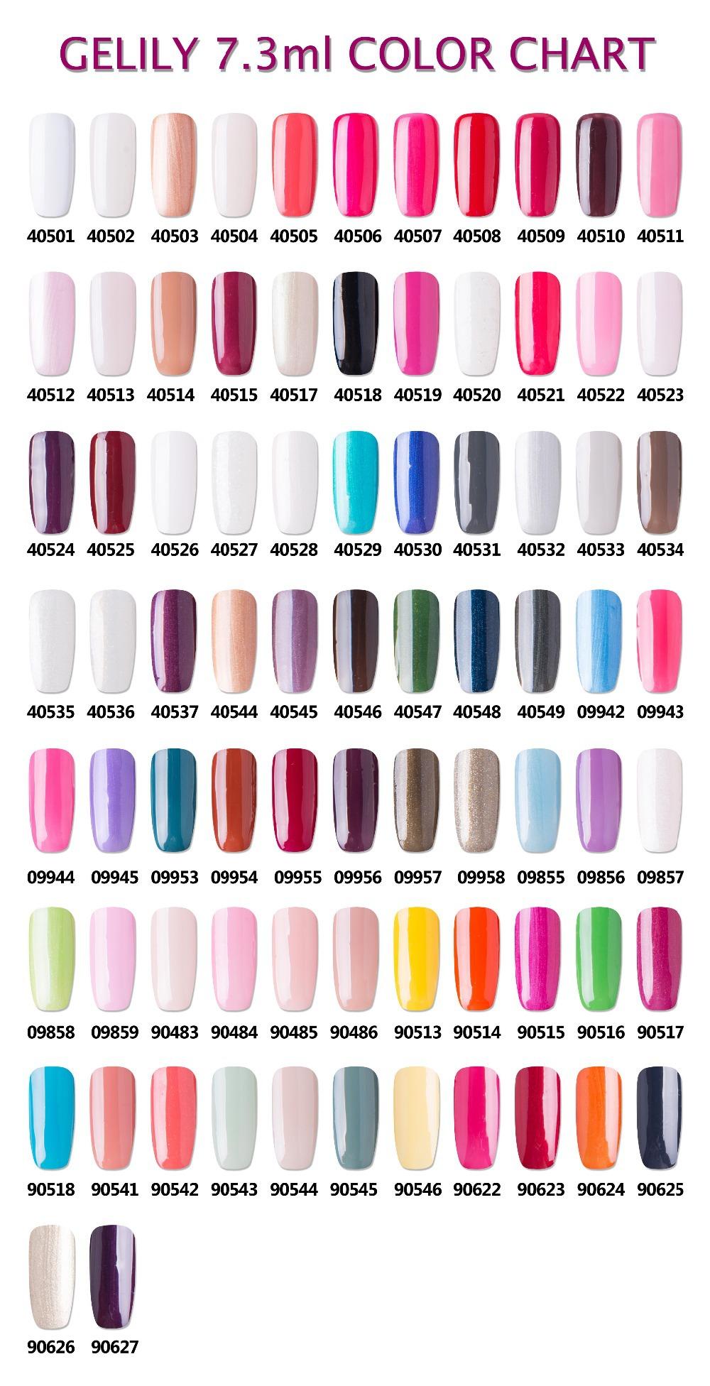 New Brand! Soak Off Velvet Powder Nail Polish 79 Colors 7.3ml - Buy ...