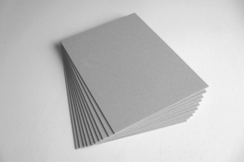 Grey Paperboard For Book Cover Amp Grey Paper Laminated