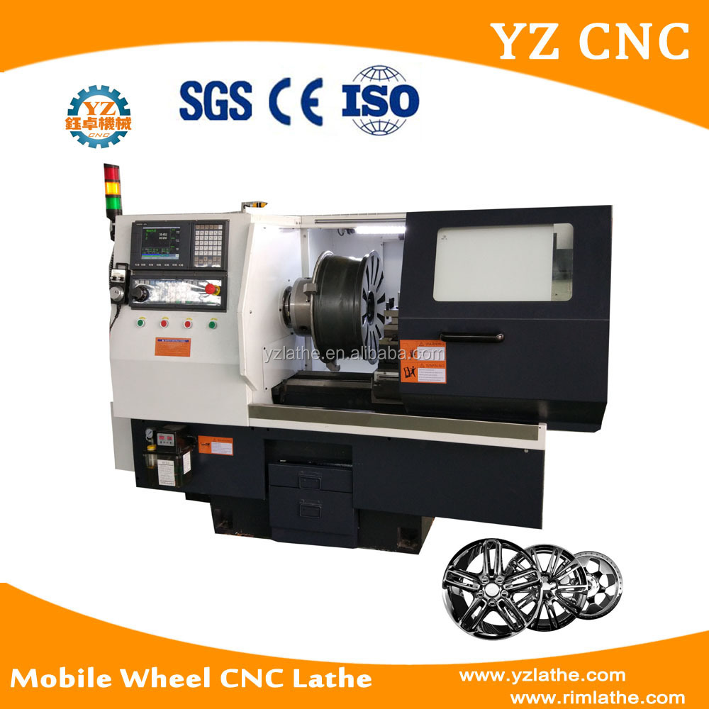 WRC20 Mobile Wheel Repair CNC Lathe Machine With Probe