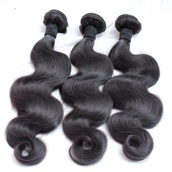 12A  Brazilian Remy Virgin Hair Body Wave Hair Weave 100% Unprocessed Virgin Human Hair Weave Natural Black 10-30inch