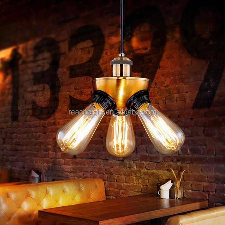 copper lighting fixtures. vintage copper pendant lamp restaurant lights retro edison bulbs creative hanging lighting fixture v002 fixtures